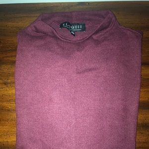 Eloquii burgundy sweater NWT